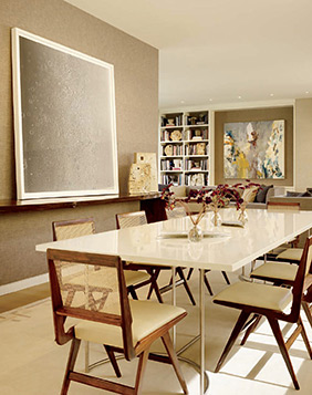 photo of client artwork from Architectural Digest